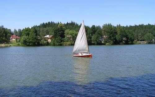 Chaty Malý Ratmírov - yachting