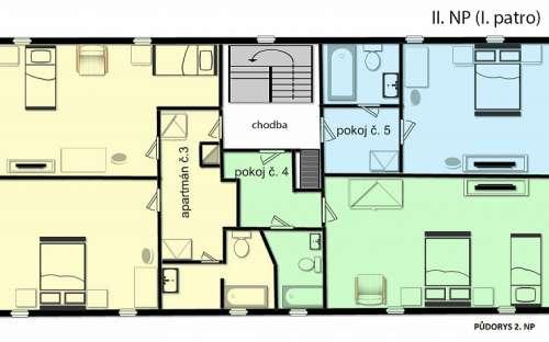 Plan d'étage II.NP (1. Floor)