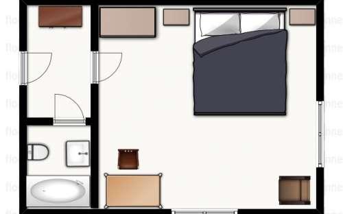 Plan de la salle n ° 1