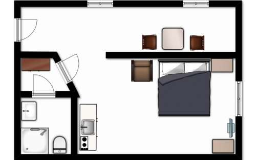Plan d'étage - Salle 2