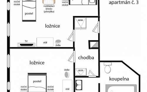 Layout - Apartment No. 3