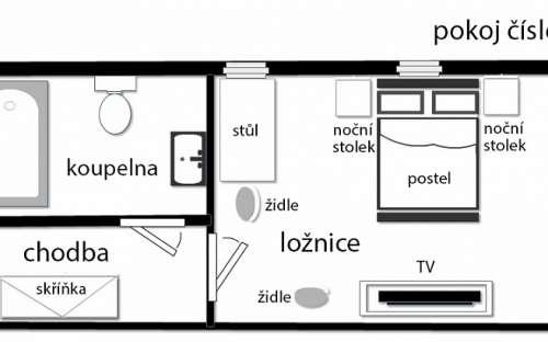 Plan d'étage - Salle 5