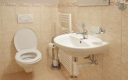 WC dans la chambre n ° 5