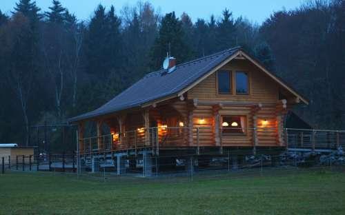 Ubytování srub MB Ranch, Plzeň sever