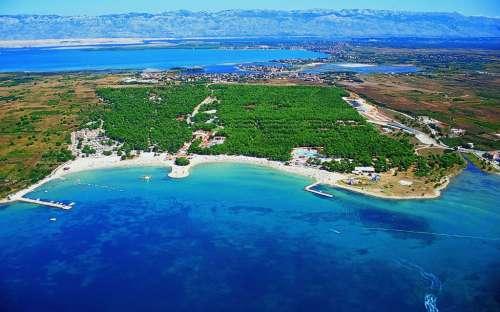 Dovolená u moře, Mobilní dům - Zadar, Chorvatsko