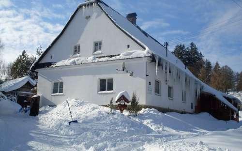 Moravisch huisje U Kučerů, Jeseníky, Moravisch-Silezië
