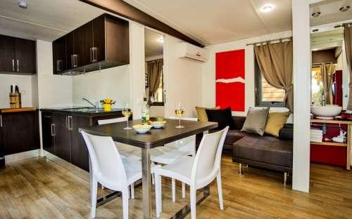 Kemp Santapomata - mobilní dům