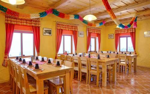 Salle à manger Novopacká bouda