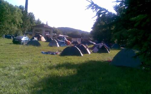Camping Žichovec - telt