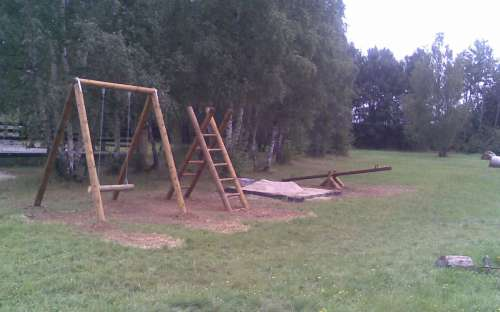 Kemp Žichovec - dětské hřiště