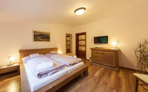 Areál Ondrášův dvůr - hotelové pokoje