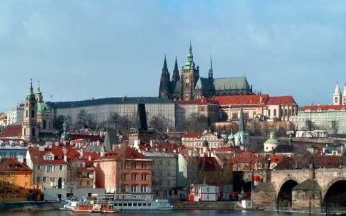 Historické město Praha