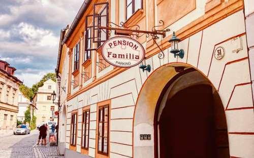 Pension Familia - Český Krumlov, jižní Čechy