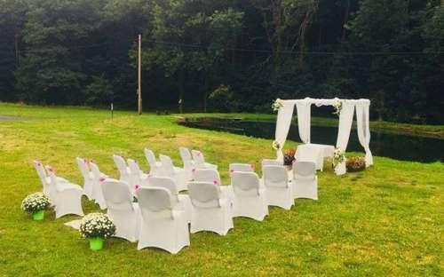 Luxusní svatební obřad v penzionu