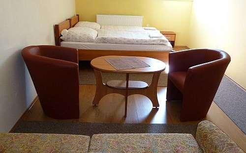 Penzion Na Perku - ložnice