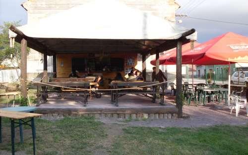 Hospůdka Na Perku - venkovní posezení