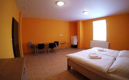 Bezbariérový pokoj s manželskou postelí