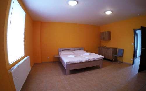 Barrièrevrije kamer met een tweepersoonsbed