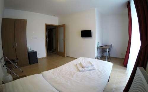 Jednolůžkový pokoj Standard - ložnice