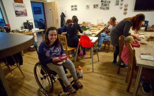 Veranstaltungen und Wohnungen für Behinderte in der Pension Zlatovláska