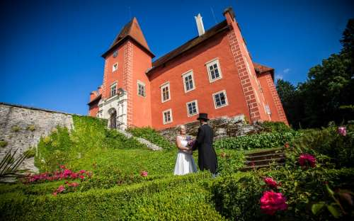 Schloss Červená Lhota - Hochzeiten im Schloss