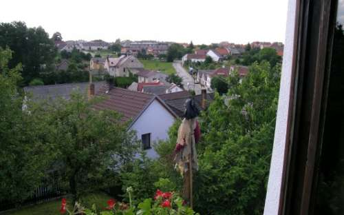 Výhled z pokoje Sibila