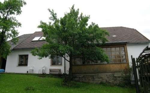 Penzion Arabela Česká Kanada - Pohled ze spodní zahrady