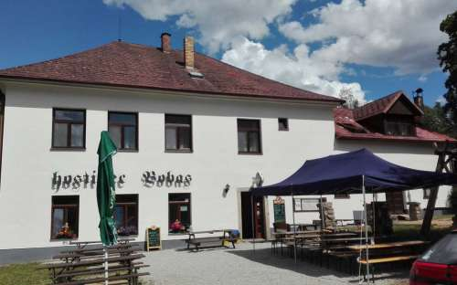 Penzion Bobas s venkovním posezením, Česká Kanda, Jižní čechy