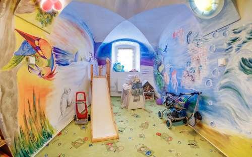 ペンションDvurポホディ-子供のための居心地の良いコーナー
