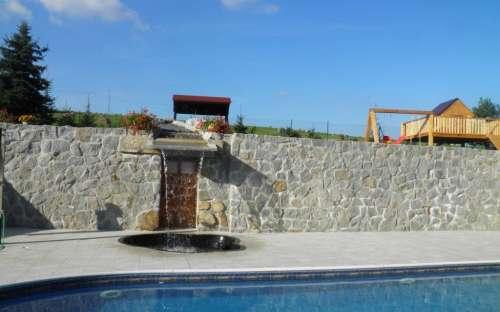ゲストハウスのプール