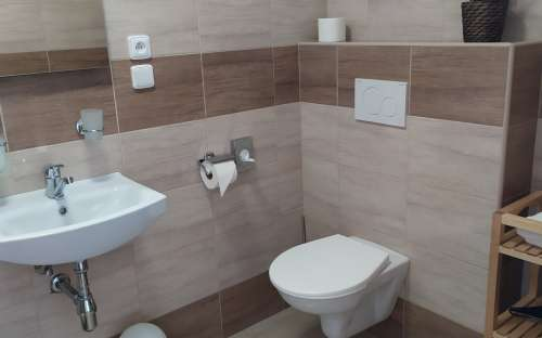 wc v penzionu