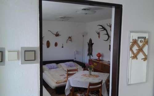 Penzion Sobotín - ložnice pro 2 osoby dohromady