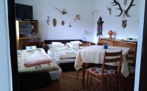 Penzion Sobotín - ložnice pro 3 osoby