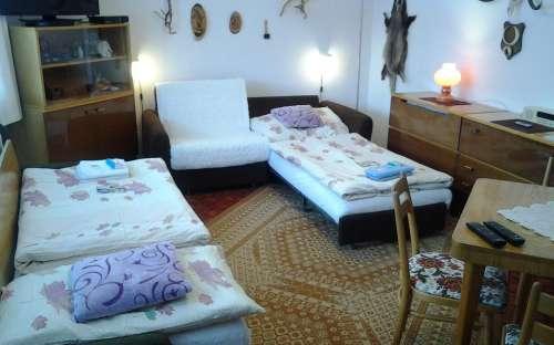 Pension Sobotin - slaapkamer voor 2 personen afzonderlijk