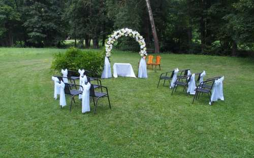 Svatební obřad Penzion Hamr
