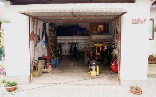 Úschovna kol v uzamykatelné garáži