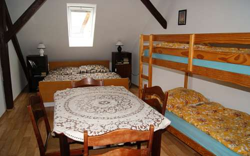 Podkrovní apartmán v penzionu