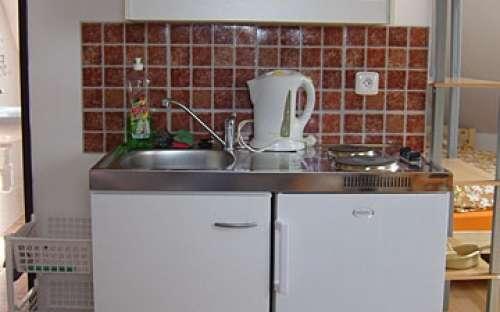 Kuchyňský kout apartmánu