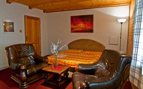 ゲストハウスの客室