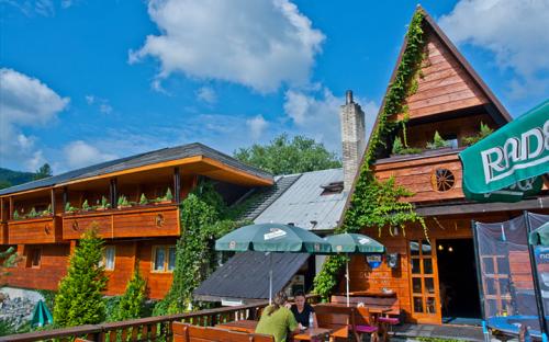 ペンションとレストランKoliba、宿泊施設Komorni Lhotka、モラヴィアンサイレシアンリージョン