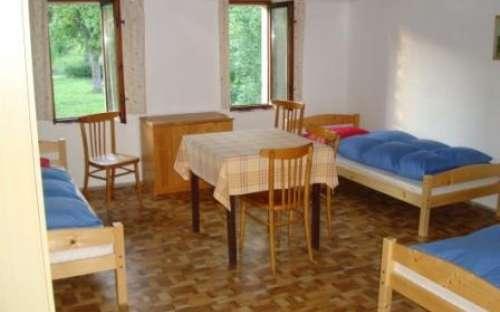 Čtyřlůžkové pokoje