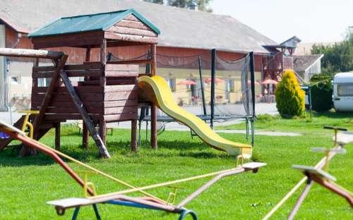 Kemp Lipno - dětské hřiště