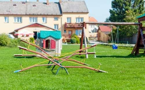 Penzion Lipno - dětské hřiště