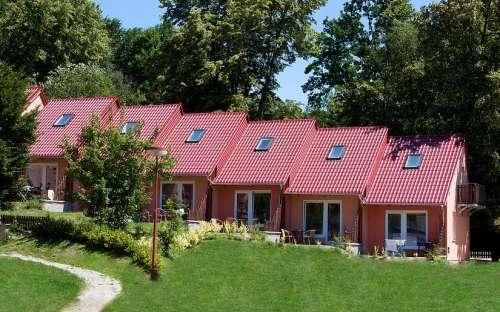 bungalows in het pension M
