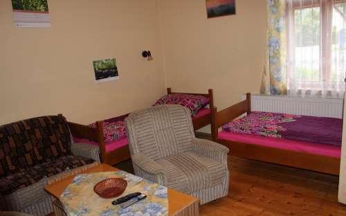 Apartmán - druhá ložnice apartmánu Penzion Magdalenka