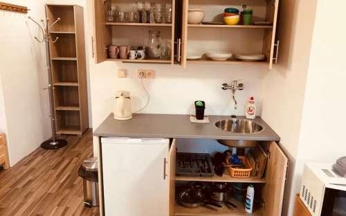 Bytové studio č. 1 pro 5 osob (+1 přistýlka) v penzionu Marie Magdalenka