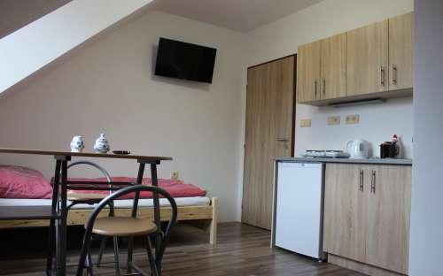 Bytové studio č. 3 pro 2 osoby v penzionu Magdalenka