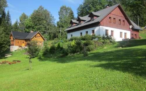 Penzion Medvídek, ubytování Josefův Důl, Liberecko
