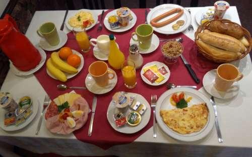 Penzion Minor - snídaně