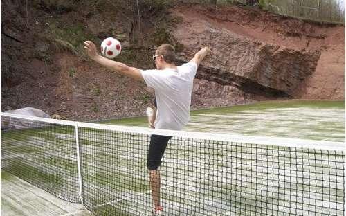 Hřiště na míčové hry a badminton